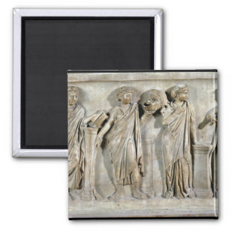 Sarcophagus of the Muses Refrigerator Magnets
