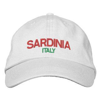 Sardinia Adjustable Hat Embroidered Baseball Caps