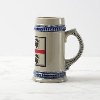 Sardinia Flag Mugs