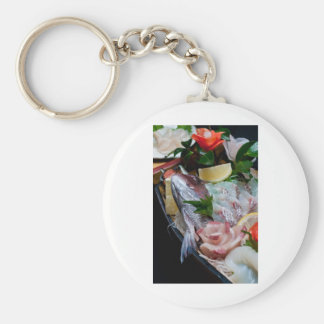 Sashimi in Japan, Japanese Cuisine Key Ring