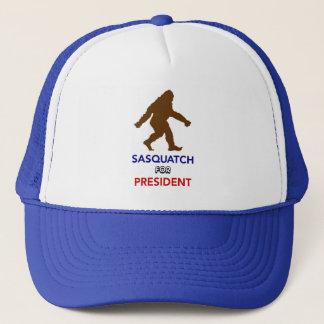 Sasquatch for president cap