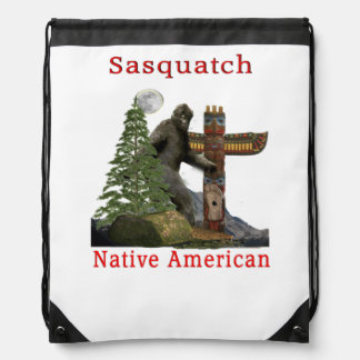 sasquatch products drawstring bag