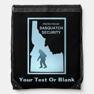 Sasquatch Security - Idaho Drawstring Bag