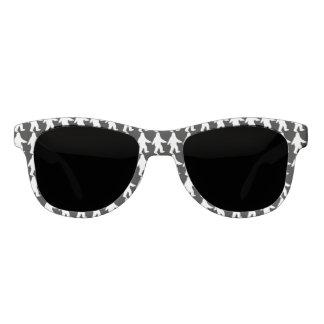 Sasquatch Silhouette Sunglasses - Black