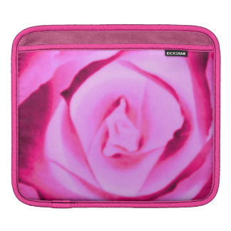 Sassy Sissy Girl Hot Pink Rose Nature Photo Fun iPad Sleeve