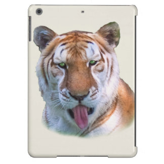 Sassy Tiger Cat Customizable Cover For iPad Air