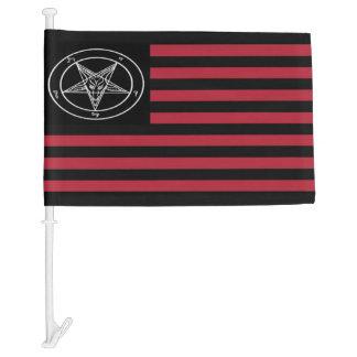 Satanic Flag Car Flag
