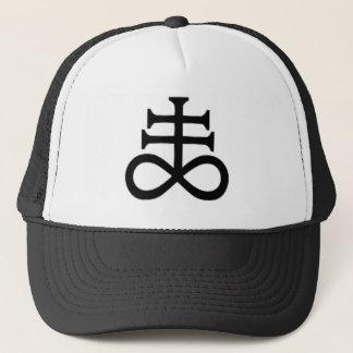 SATAN'S CROSS TRUCKER HAT