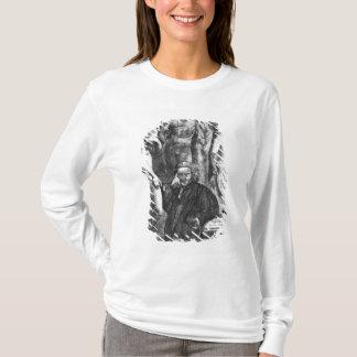 Satirical portrait of Laurence Sterne, c.1761 T-Shirt