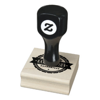Satisfaction guaranteed rubber stamp