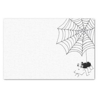 Satisfied Spider Tissue Paper