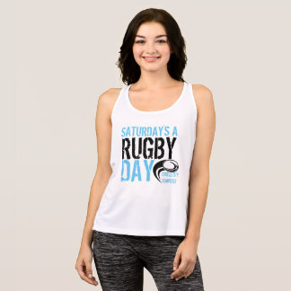Saturday's a Rugby Day Singlet
