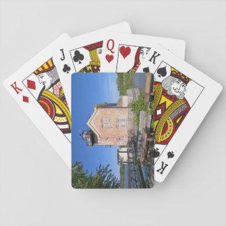 Saugerties Lighthouse, Hudson River New York Playing Cards
