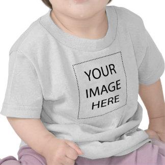 Säuglingst shirt vertical template