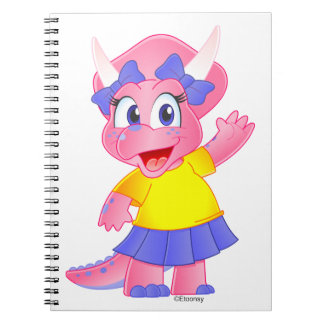 Savannah Dino Cartoon Notebook