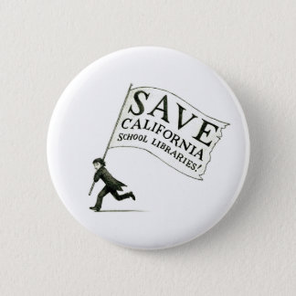 Save California School Libraries - Hugo Cabret 6 Cm Round Badge