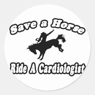 Save Horse, Ride Cardiologist Sticker