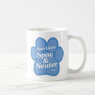 Save Lives, Spay & Neuter Mug