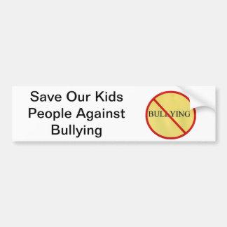 Save Our Kids bumper sticker