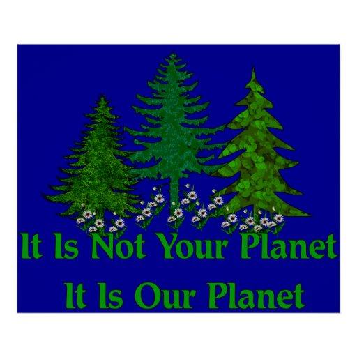 Save Our Planet Poster
