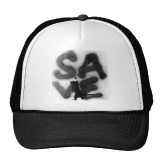 """""""SAVE"""" Rescue Pets! Trucker Hat"""