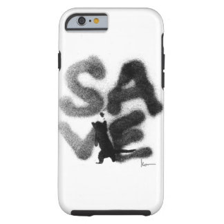 """""""SAVE"""" Rescue Pets! Tough iPhone 6 Case"""