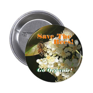 Save The Bees / Activism Pin