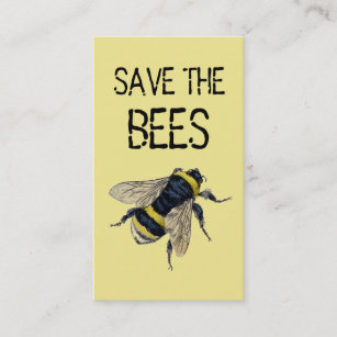 Bee Business Cards | Zazzle NZ