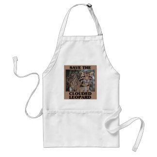 Save the Clouded Leopard Standard Apron