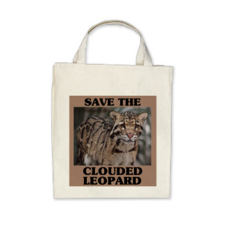 Save the Clouded Leopard Bag