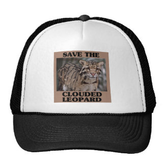 Save the Clouded Leopard Cap