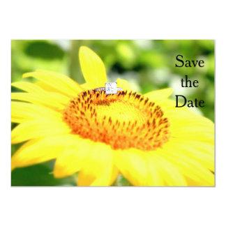 Save the Date 11 Cm X 16 Cm Invitation Card