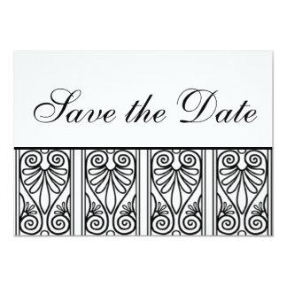 Save the Date 13 Cm X 18 Cm Invitation Card