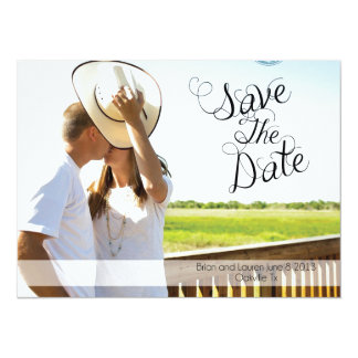 Save The Date 14 Cm X 19 Cm Invitation Card