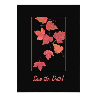 Save the Date - Autumn Wedding Card