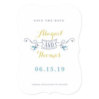 Save the Date - Boho Elegant Card