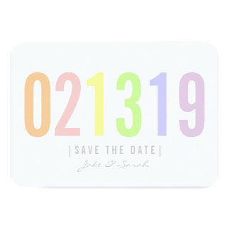 Save the Date Card - Icecream Day