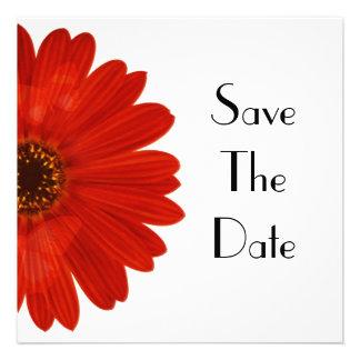 Save The Date Daisy Custom Invites