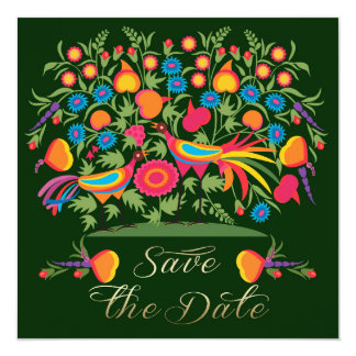Save the Date for a Wedding Anniversary Party Card