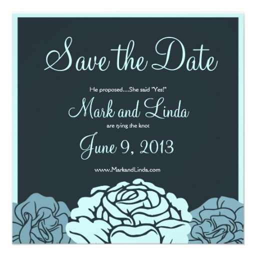 Save the Date Custom Announcement