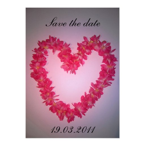 Save the date personalized announcements
