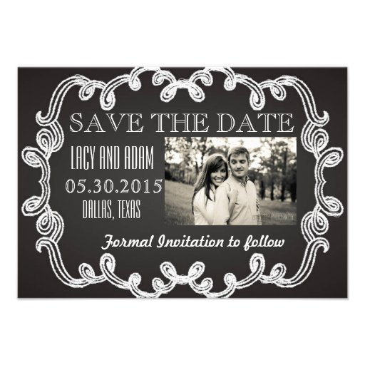 Save the Date Personalized Invitations