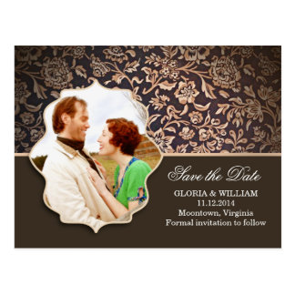save the date or engagement photo postcards