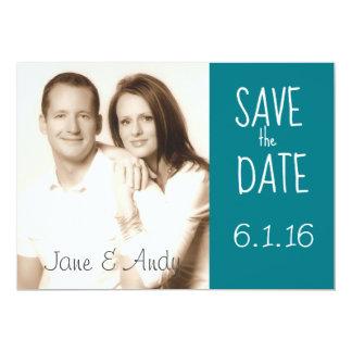 Save the Date Photo Wedding Card 13 Cm X 18 Cm Invitation Card