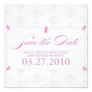 Save the Date (Today's Best Award) 13 Cm X 13 Cm Square Invitation Card