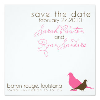 Save the Date (Today's Best Award) Personalized Announcements
