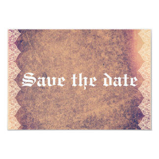 Save the DATE Vintage romantic