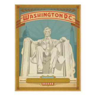 Save the Date | Washington, D.C. - Abe Lincoln Postcard