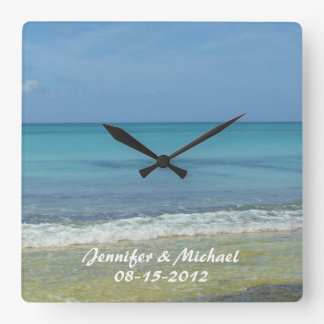 Save The Date Wedding Anniversary Wall Clock