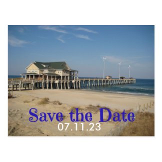 Save the Date Wedding Site Photo Post Card